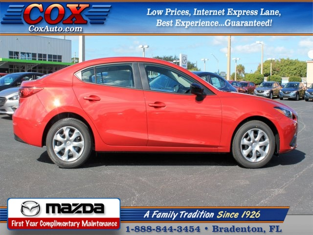 new 2015 mazda mazda3 i sv 4d sedan near sarasota 5m337385 cox mazda. Black Bedroom Furniture Sets. Home Design Ideas
